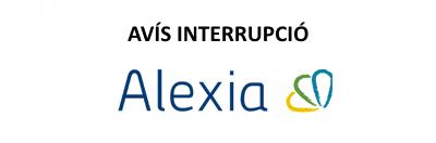 Interrupció servei Alexia