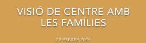 Dinàmica Visió de centre amb les famílies