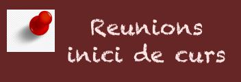 Reunions de famílies inici de curs - DR MASMITJÀ