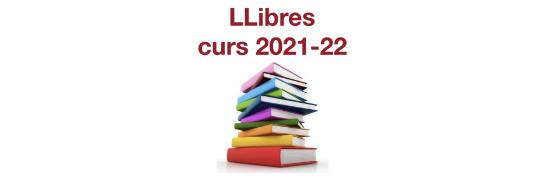 LListat de llibres curs 2021-22