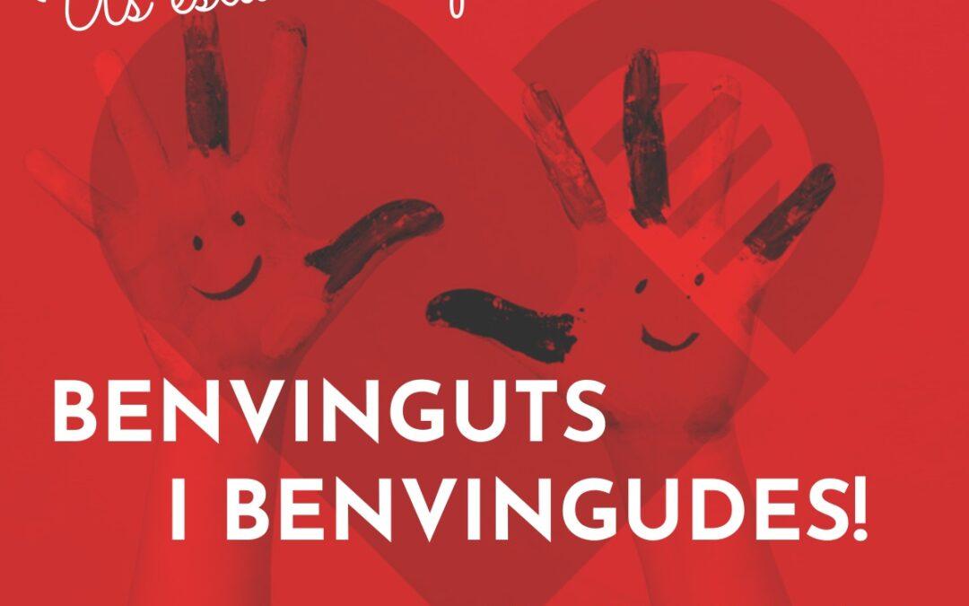 BENVINGUTS I BENVINGUDES AL NOU CURS 2021-22