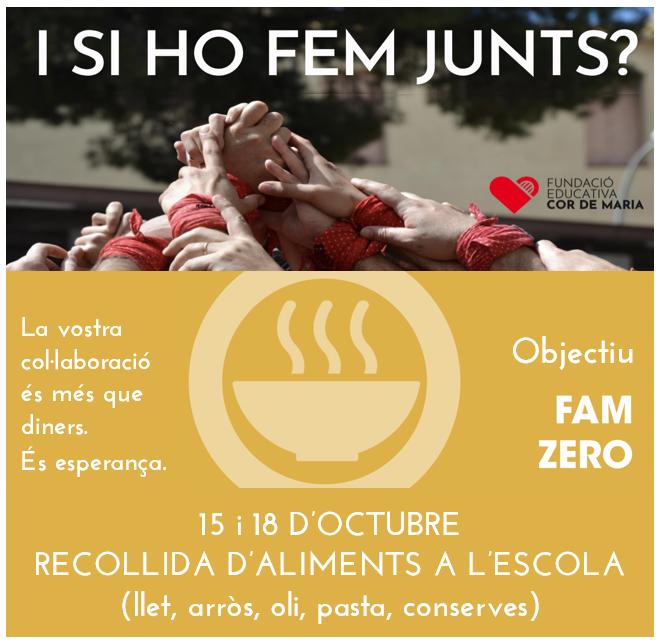 #FamZero – Campanya recollida aliments